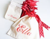 Personalised Name & Advent Calendar Pouch Set
