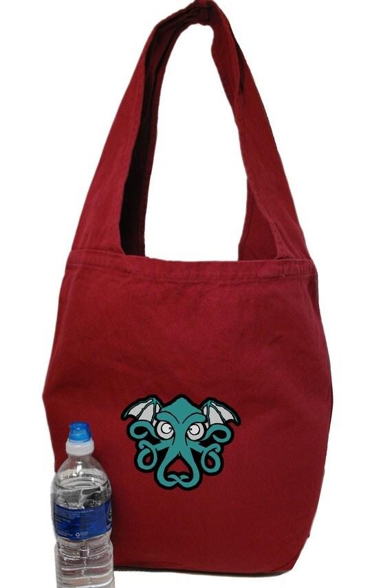 Cthulhu Printed Monk Bag, Sling, Tote, Shoulder bag, Market bag, Hobo Bag