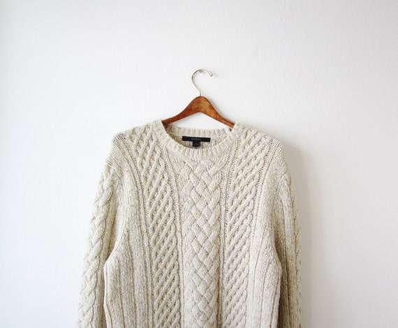 1990s Cabin Knit Men's Sweater Size Large