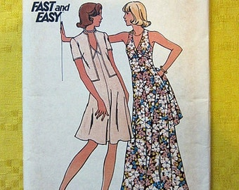 Butterick Pattern 3754 Size 14 Misses' Dress & Jacket