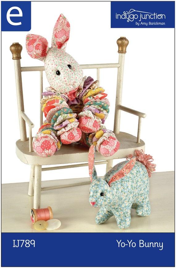 Yoyo bunny epattern for Yo yo patterns crafts