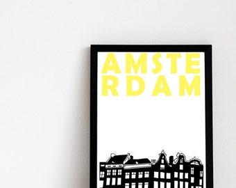 Amsterdam Print // Netherlands Art Print