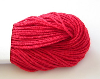 Red Baker's Divine Twine, Solid, 25 yards or 75 feet