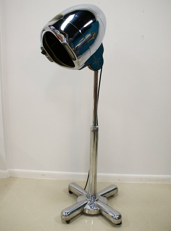 SALE 1950's Normandie Starline Hair Dryer Atomic Age