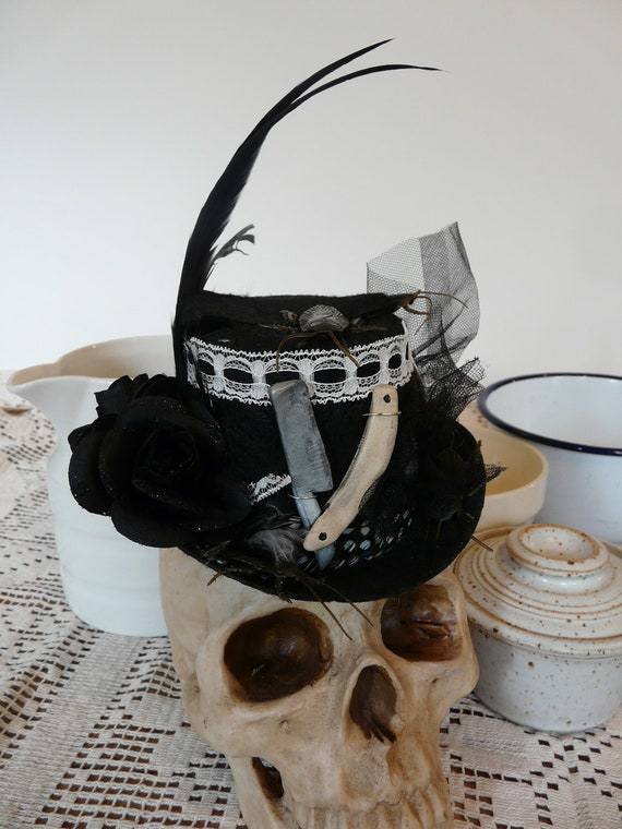 Special Order for Ranielle - Sweeney Todd Mrs Lovett's Mini Top Hat