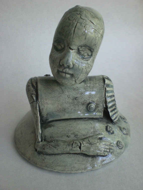I Make Dolls series no.3: Melody, earthenware sculpture