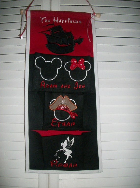 disney cruise line 3 pocket fish extender by stitchesnbows