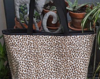 Animal Prints Shopping or Record Bag