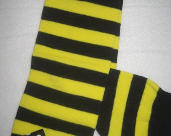 Boutique baby bumble bee legwarmers
