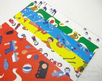 Japanese Reproduced Print Origami Paper - Kirei or Kawaii
