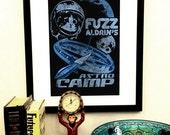Astro Camp Art Print - 11x17