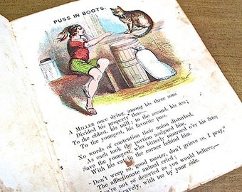 Puss in Boots Childrens Fairy Tale  Father's Series McLoughlin Bros