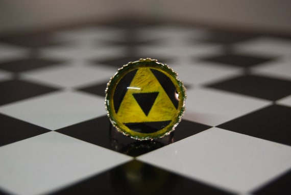 Triforce Ring from The Legend of Zelda
