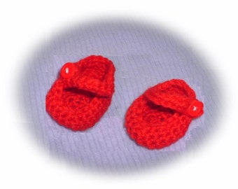 18 inch Doll Accessories - Mary Jane Shoes - crochet Digital e Pattern - CCP001