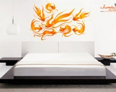 Gold Fish Wall Decals