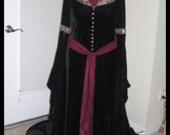 Mourning Gown, costume version, silk available