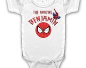 Spiderman Custom tee shirt or bodysuit