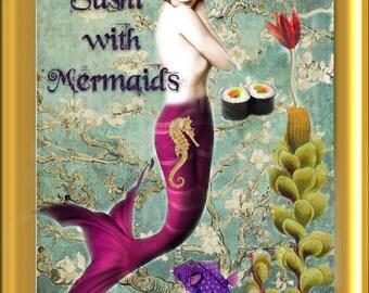 Sushi with Mermaids Virtorian artisan perfume oil 1/8 fl oz