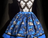 Star Wars Spacecraft Lolita Skirt and Bow