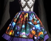 Galaxy Lolita Skirt and Bow