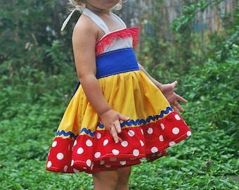 Snow White dress, Snow White costume, Snow White,Snow White birthday dress, Halloween costume, princess dress, snow white girls costume