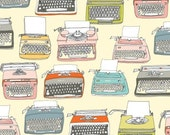 Typewriters from Type by Julia Rothman - Half Yard