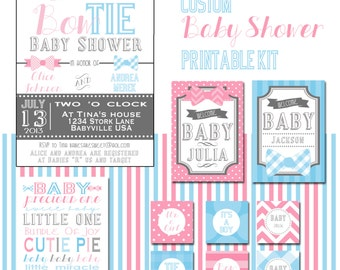 Gender Reveal or Baby Shower Kit