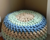The Lucky Hanks Signature Crochet Pouf pattern - Pattern Only - permission to sell what you make