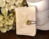 Steampunk Butterfly Tea Wallet