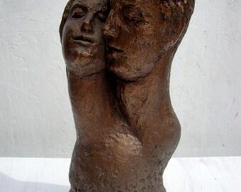 Vintage Modern Art 1960s Statue