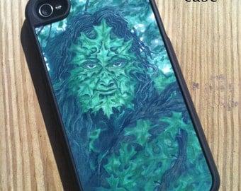 iPhone 4/4s Case Greenman Art