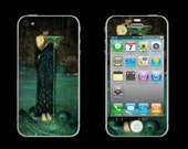 Circe Individiosa by Waterhouse Cell Phone Skin 3M ADHESIVE - iPhone 5/ 4/ 3, Droid, Blackberry, Smartphone