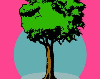 El Arbol Loteria Mexican Pop Art Print