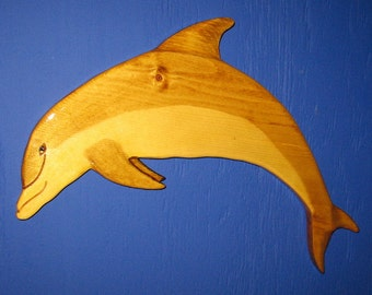 Dolphin, Porpoise Bottle- Nosed Wall Plaque, Wall Hanging