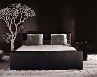 Vinyl Wall Decal Sticker Bare Tree Decoration 6 Ft Tall item 240A