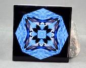 Loon Decorative Ceramic Tile Sacred Geometry Kaleidoscope Serene Serenade