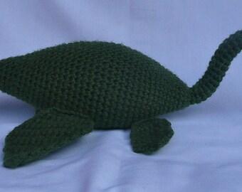 Super Cute Crochet Loch Ness Monster Pattern