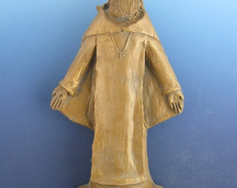 St Peregrine Statue, Patron Cancer Patients & Those Cured, Handmade, Large Size