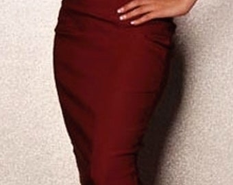 Plus size Classic pencil skirt   choose your size  or your mesurments custom order , tailor made