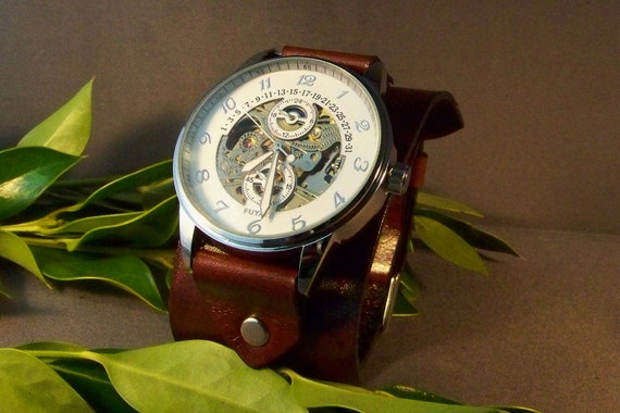 Leather Watchband ( Classic Style On Vintage)