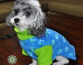 Small Dog Fleece Sweater Sewing Pattern - S205  Dog Clothes Sewing Pattern, 5 Sizes, 2 Styles Included