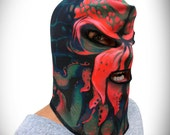 Cthulhu Monster Mask (100% Organic Cotton Knit) ADULT or KID size