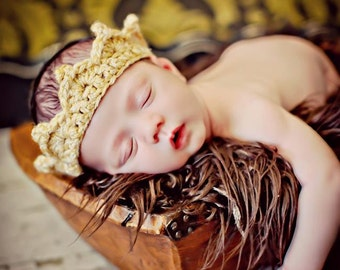 Newborn Baby Photo Prop Crown