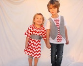 Brother sister Christmas outfits, Christmas photo shoot outfits