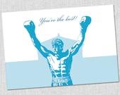 Rocky Balboa Thank You Notes - Set of 10