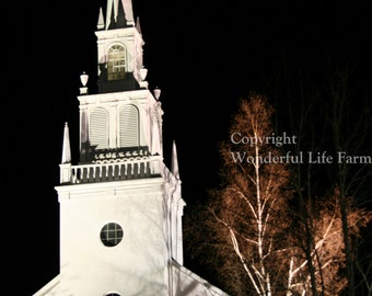 SALE (50% off) - Church Steeples of New England Note Card Set - Set of Four Photo Note Cards