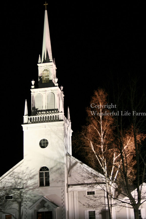 Church Steeples of New England Note Card Set - Set of Four Photo Note Cards