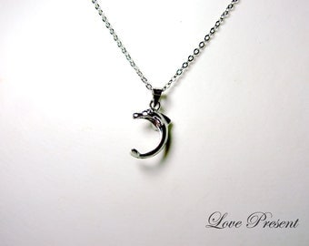 Cyber Monday Cutie Dolphin Charm Necklace - Prefect for your Love
