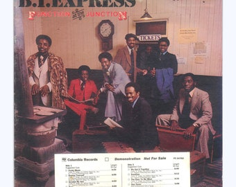 B. T. Express - Function at the Junction vintage Vinyl Record Album Soul Funk Music Columbia LP