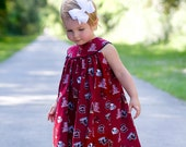 Girls Gamecock USC Gameday Dress (3 month up to Size 6) Clemson Also Available
